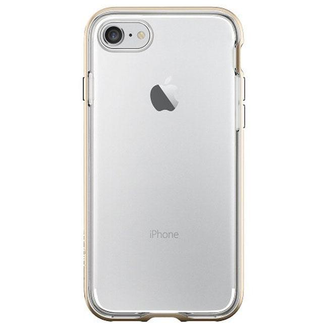 Чехол-накладка Spigen Case Neo Hybrid Crystal Champagne Gold for iPhone 7 (SGP-042CS20521)