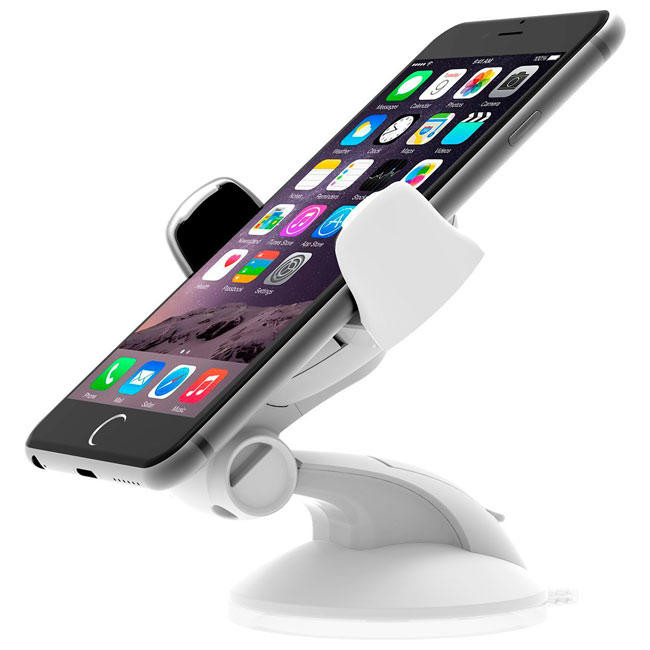 Держатель iOttie Easy Flex 3 Car Mount Holder Desk Stand White for Smartphone (HLCRIO108WH)