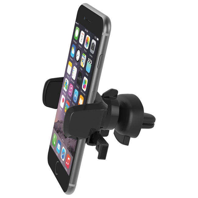 Держатель iOttie Easy One Touch Mini Vent Mount Universal Cradle Black for Smartphone (HLCRIO124)