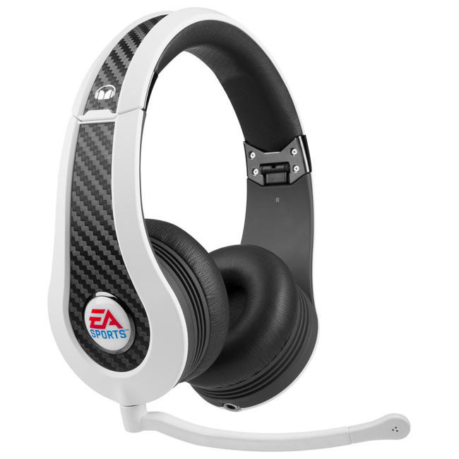 Наушники Monster Game MVP Carbon On-Ear Headphones by EA Sports White (MNS-128973-00)