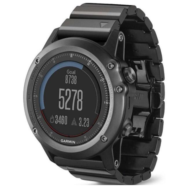 Смарт-часы Garmin Fenix 3 HR GPS Watch with (Titanium & Sport Bands)