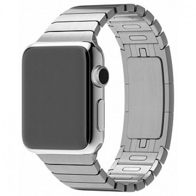 Ремешок Apple Watch 38mm Link Bracelet Silver (MJ5G2)