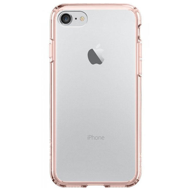 Чехол-накладка Spigen Case Ultra Hybrid Rose Crystal for iPhone 7 (SGP-042CS20445)