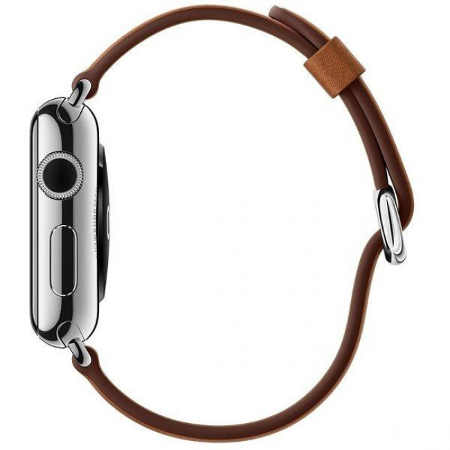 Ремешок Apple Watch 38mm Classic Buckle Saddle Brown (MLDY2)