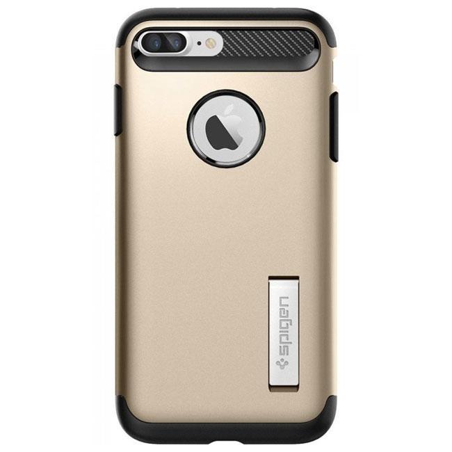 Чехол-накладка Spigen Case Slim Armor Champagne Gold for iPhone 7 Plus (SGP-043CS20310)