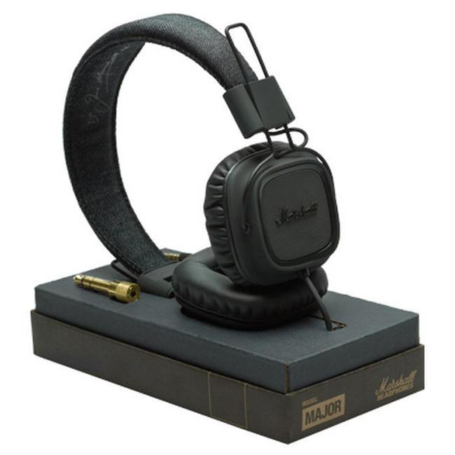 Наушники Marshall Headphones Major II Pitch Black (4091114)