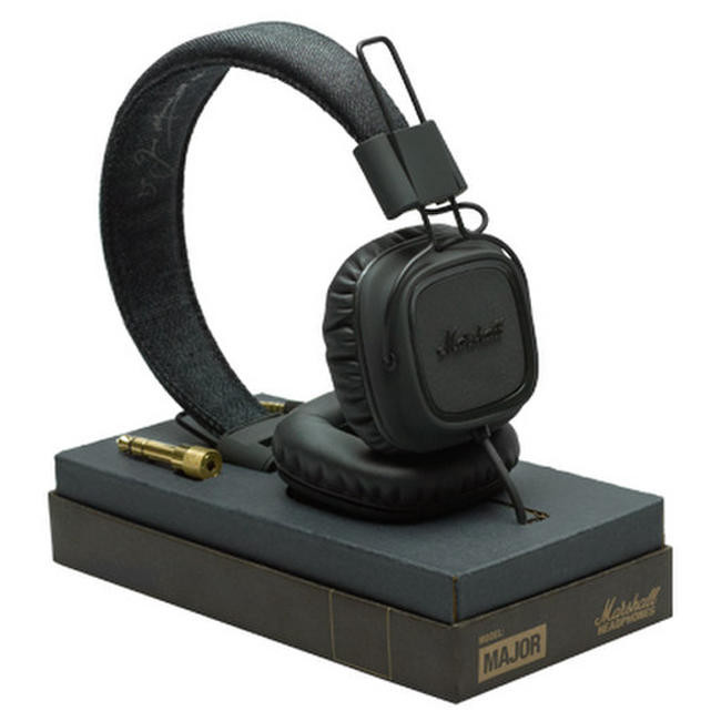 Наушники Marshall Headphones Major Pitch Black (4090622)
