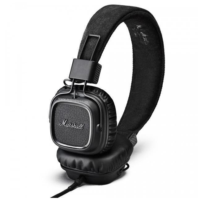 Наушники Marshall Headphones Major II Android Pitch Black (4091170)
