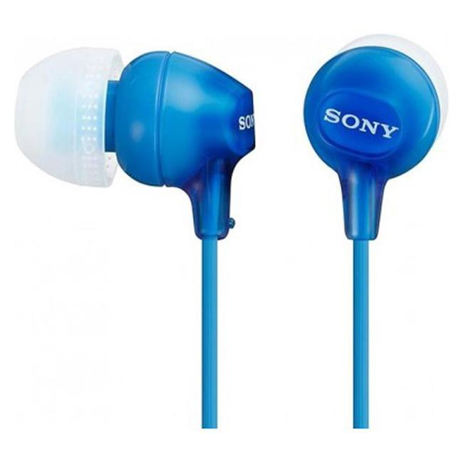 Наушники SONY MDR-EX15LP Blue (MDREX15LPLI.AE)