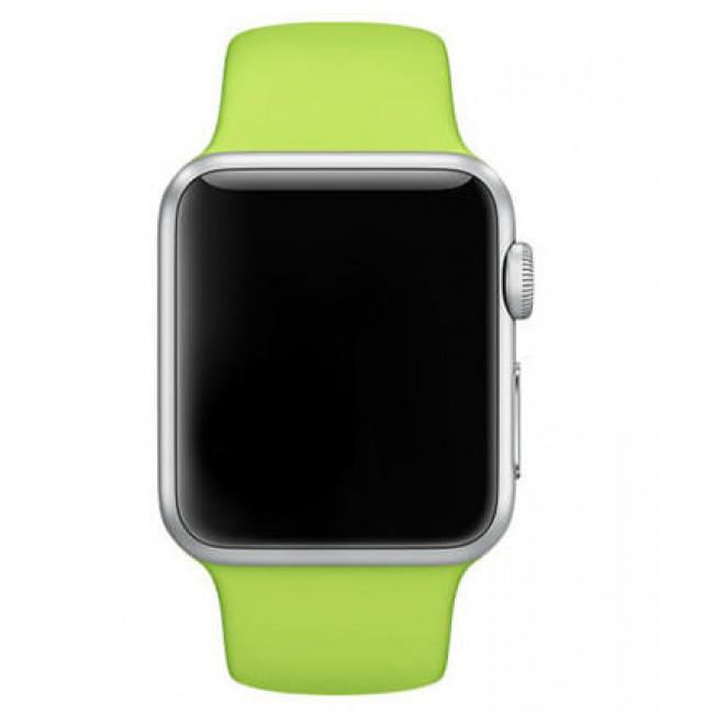 Ремешок Apple Watch 42mm Sport Band Green (MJ4U2)