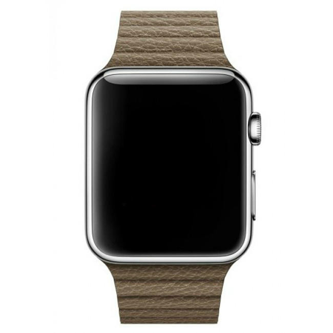 Ремешок Apple Watch 42mm Leather Loop Light Brown (MJ532)