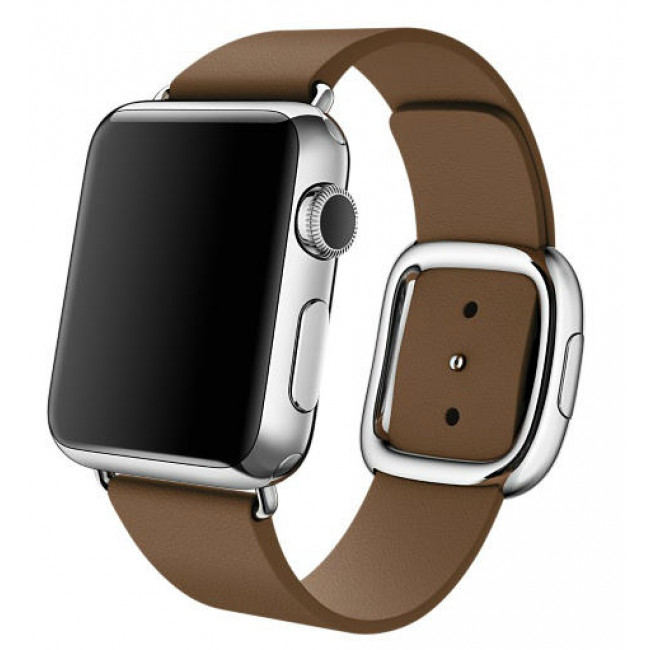 Ремешок Apple Watch 38mm Modern Buckle Brown (MJ542)