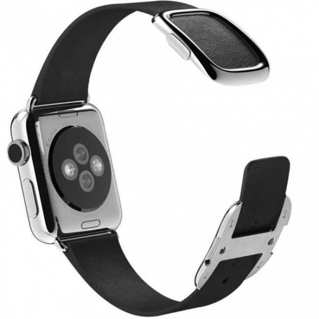Ремешок Apple Watch 38mm Modern Buckle Black (MJY72)