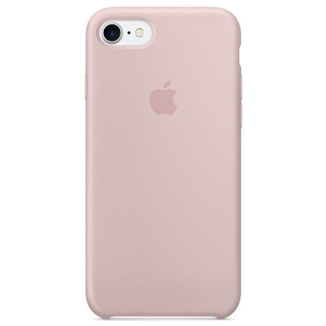 Чехол Apple iPhone 7 Silicone Case Pink Sand (MMX12)