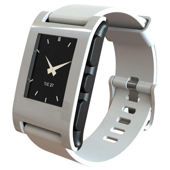 Смарт-часы Pebble Time Smart Watch (White)