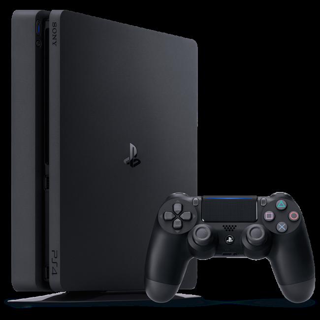 Sony PlayStation 4 Slim 500Gb (PS4) Black