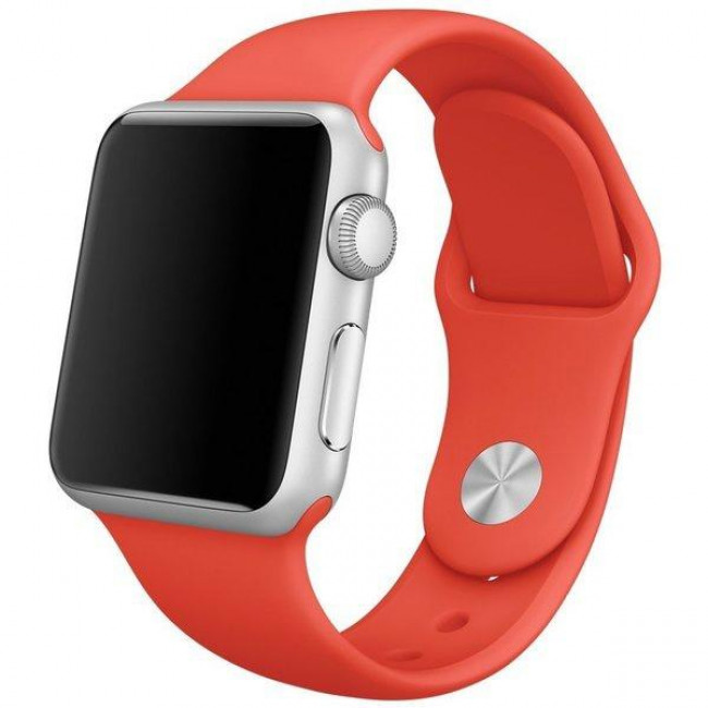 Ремешок Apple Watch 38mm Sport Band Orange (MLD92)