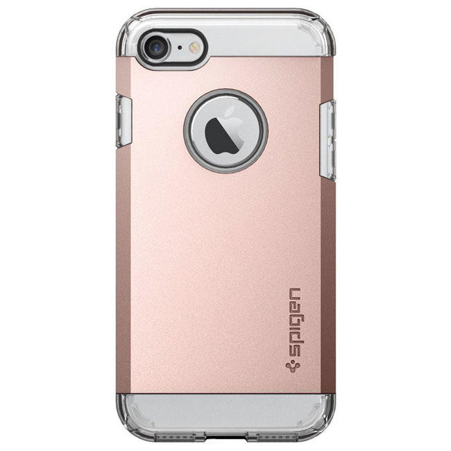 Чехол-накладка Spigen Case Tough Armor Rose Gold for iPhone 7 (SGP-042CS20492)