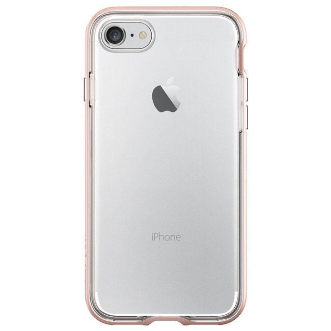 Чехол-накладка Spigen Case Neo Hybrid Crystal Rose Gold for iPhone 7 (SGP-042CS20524)