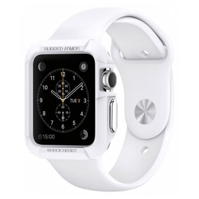 Чехол Spigen Armor для Apple Watch 38 мм White (SGP11486)