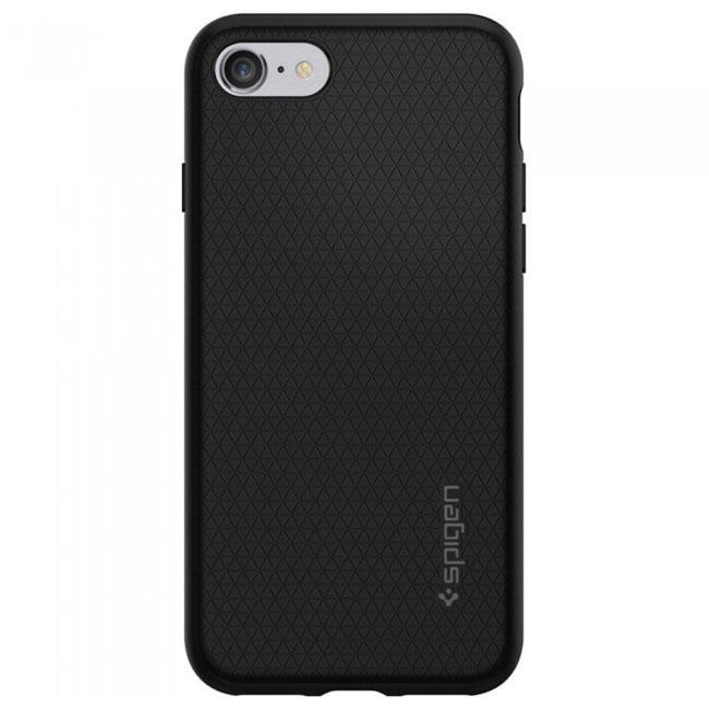 Чехол-накладка Spigen Case Liquid Armor Black for iPhone 7 (SGP-042CS20511)