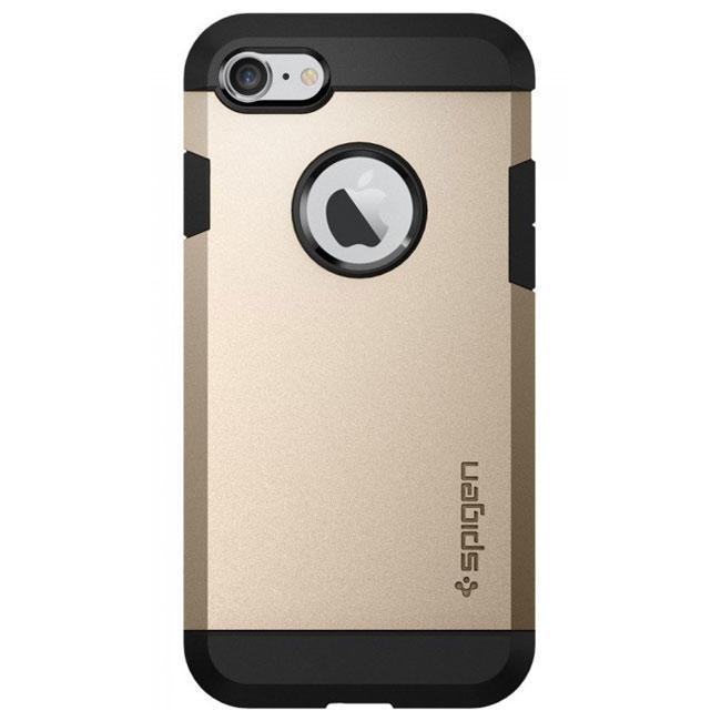 Чехол-накладка Spigen Case Tough Armor Champagne Gold for iPhone 7 (SGP-042CS20490)