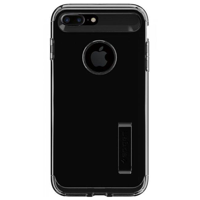 Чехол-накладка Spigen Case Slim Armor Jet Black for iPhone 7 Plus (SGP-043CS20851)