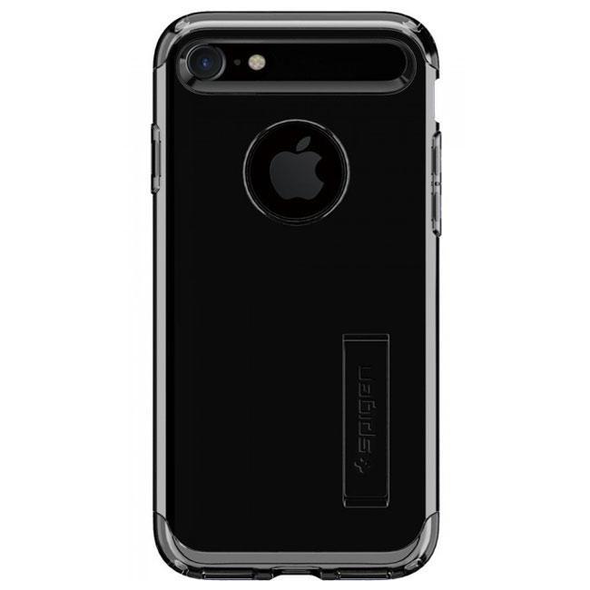 Чехол-накладка Spigen Case Slim Armor Jet Black for iPhone 7 (SGP-042CS20842)