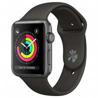 Apple Watch Series 3 GPS 42mm Space Gray Aluminum Case with Gray Sport Band (MR362)