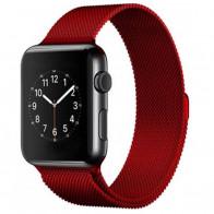 Ремешок Apple Watch Milanese Loop (42mm/44mm) Red