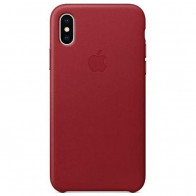 Чехол Apple iPhone X Leather Case PRODUCT(Red) (MQTE2)