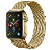 Ремешок Apple Watch Milanese Loop (42mm/44mm) Light Gold