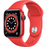 Apple Watch Series 6 GPS 40mm (PRODUCT) RED Aluminum Case with (PRODUCT) RED Sport Band (M00A3)
