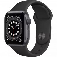 Apple Watch Series 6 GPS 40mm Spase Gray Aluminum Case with Black Sport Band (MG133)