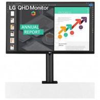 """Монитор 27"""" LG QHD Ergo (27QN880-B)"""