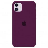 Чехол Apple iPhone 11 Silicone Сase - Marsalla (Original copy)