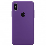 Чехол Apple iPhone XS Max Silicone Case Purple (Original copy)