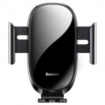 Автомобильный держатель Baseus Smart Car Mount Cell Phone Holder Black (SUGENT-ZN01)