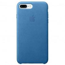 Чехол Apple iPhone 7 Plus Leather Case Sea Blue (MMYH2)