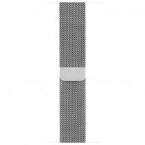 Ремешок Apple Watch 42mm Milanese Loop Silver (MJ5F2)