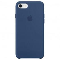 Чехол Apple iPhone 8 Silicone Case Blue Cobalt (MQGN2)