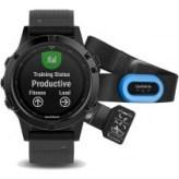 Смарт-часы Garmin Fenix 5 Sapphire HRM-Tri Bundle (010-01688-31)