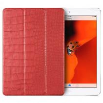 Чехол-книжка Verus Crocodile Leather Case for iPad 2018 (New) / 2017 (Pink)