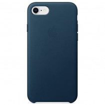 Чехол Apple iPhone 8 Leather Case Cosmos Blue (MQHF2)