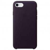 Чехол Apple iPhone 8 Leather Case Dark Aubergine (MQHD2)