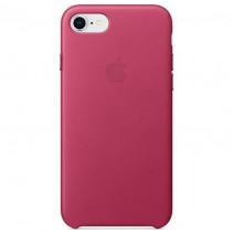 Чехол Apple iPhone 8 Leather Case Pink Fuchsia (MQHG2)