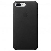 Чехол Apple iPhone 8 Plus Leather Case Black (MQHM2)