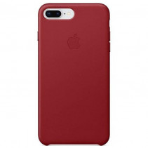 Чехол Apple iPhone 8 Plus Leather Case (PRODUCT)RED (MQHN2)