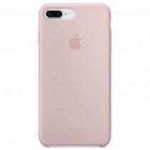 Чехол Apple iPhone 8 Plus Silicone Case Pink Sand (Original copy)