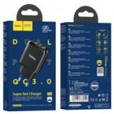 Сетевое ЗУ Hoco N6 Charmer 2USB QC3.0 18W Fast Charge (Black)